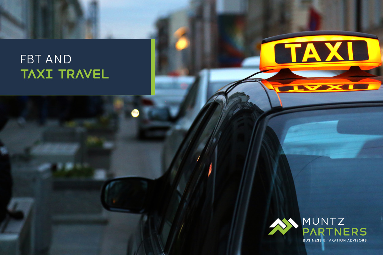 FBT and taxi travel - Muntz Partners