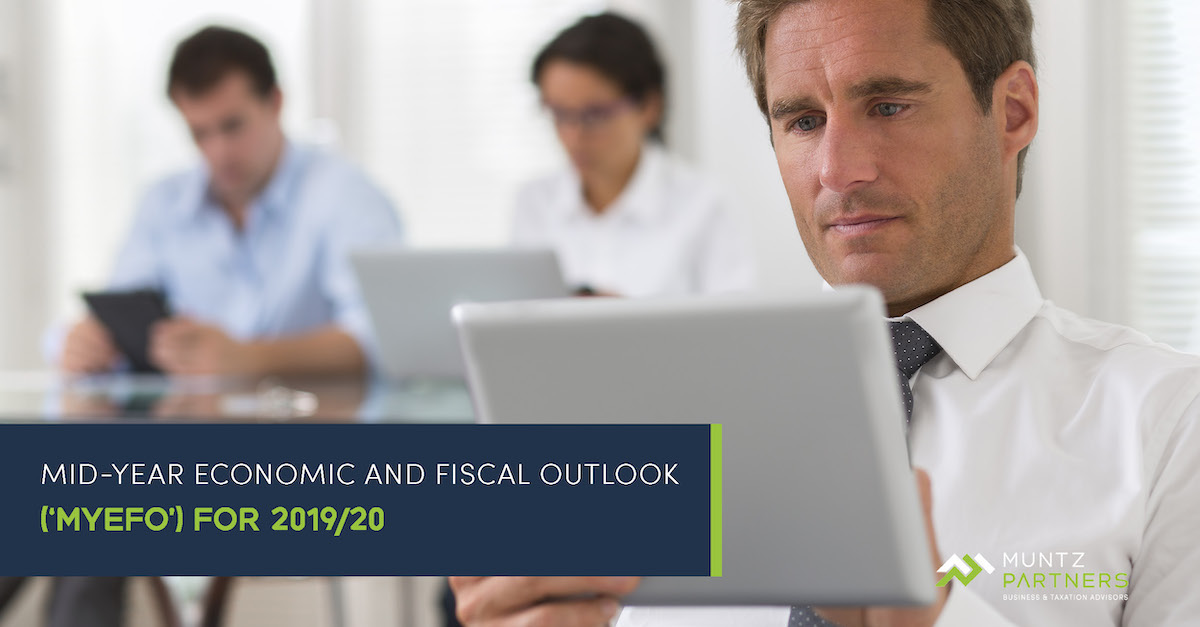 Mid-Year Economic and Fiscal Outlook ('MYEFO') for 2019/20 | Muntz Partners