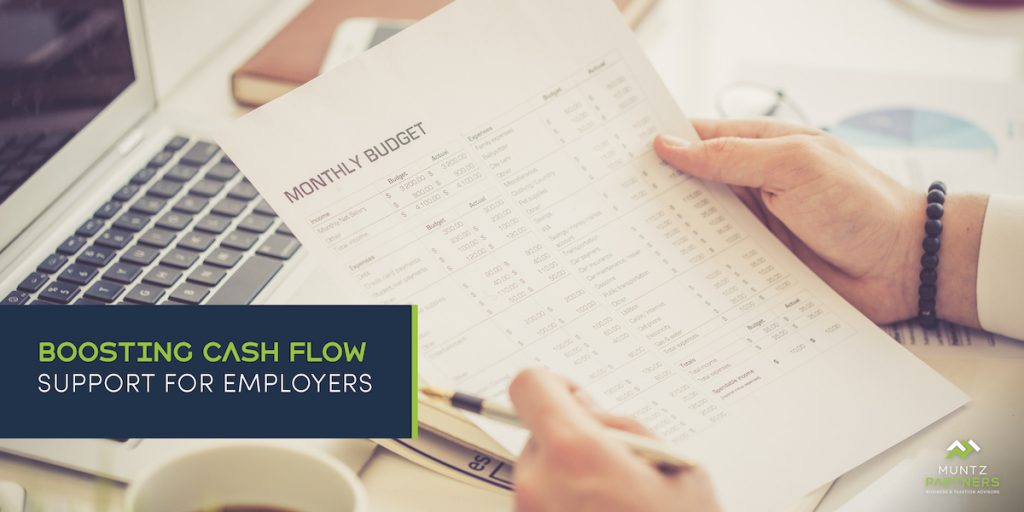 COVID 19 Update: Boosting Cash Flow Support for Employers | Muntz Partners