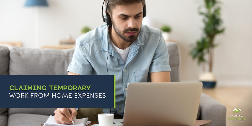 Claiming temporary work from home expenses   Muntz Partners