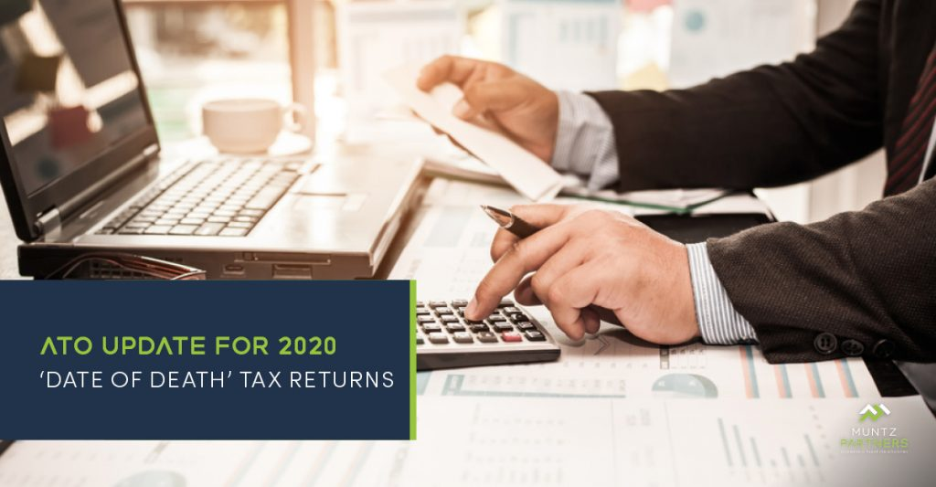 ATO update for 2020 'DOD return' tax returns | Muntz Partners