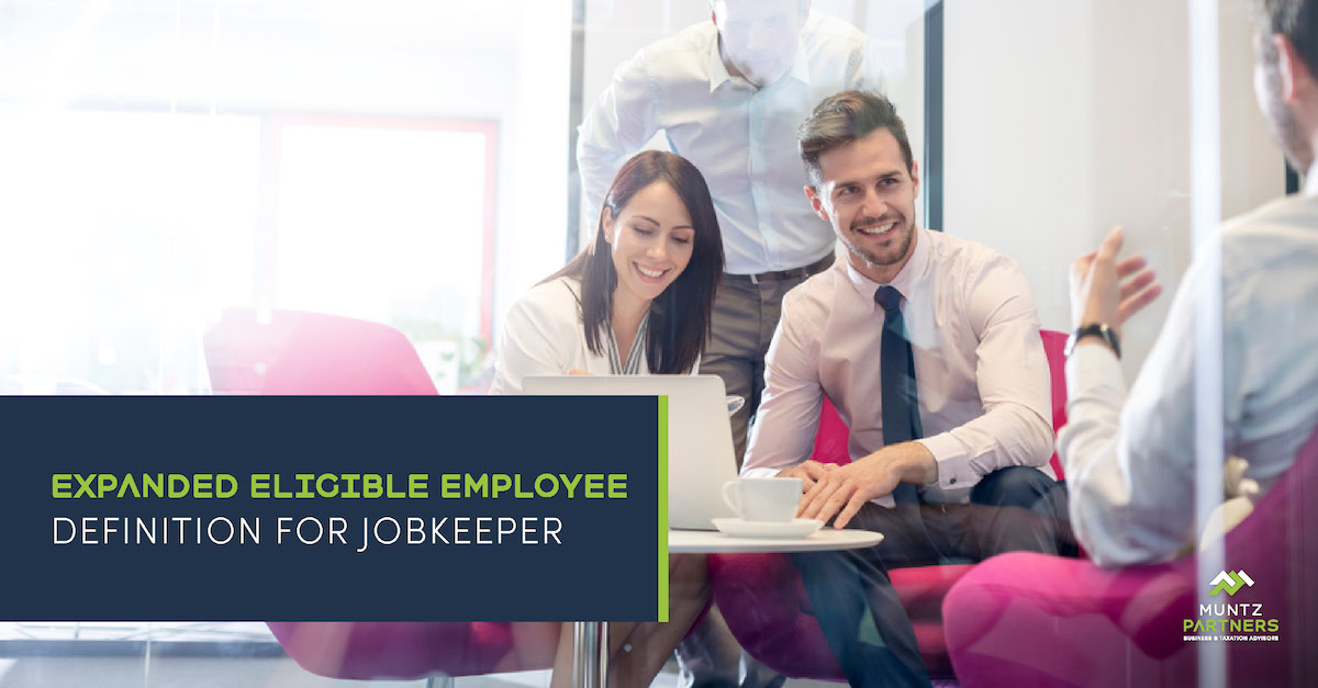 Expanded eligible employee definition for JobKeeper | Muntz Partners