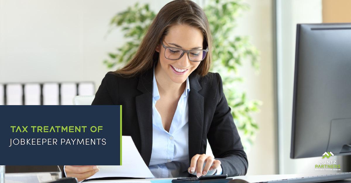 Tax treatment of JobKeeper Payments | Muntz Partners