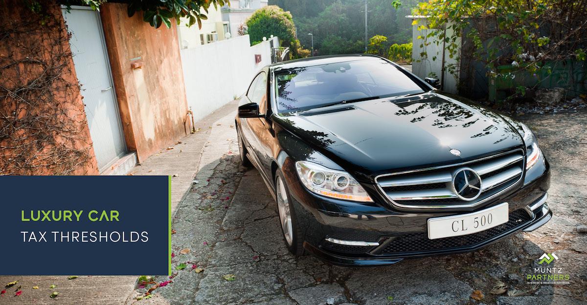 Luxury car tax thresholds | Muntz Partners